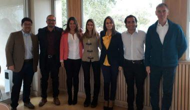 Centro de Alumnos de Ingeniería Comercial Santiago se reunió con autoridades de la Escuela de Negocios