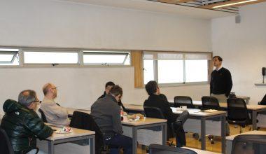 El candidato a Doctor Marcelo Ortiz expuso en Seminario de Finanzas de la Escuela de Negocios UAI