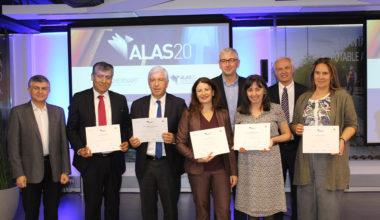 """Aguas Andinas, gran ganador premio que reconoce líderes sustentables """"ALAS20 2018"""""""