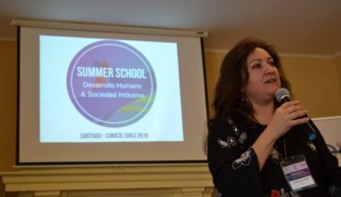 "Profesora Alejandra Marinovic parte del ""Summer School for Social Sciences – Inclusive Society"""