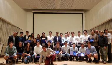 Premiación mejores proyectos Taller de Emprendimiento campus Viña del Mar